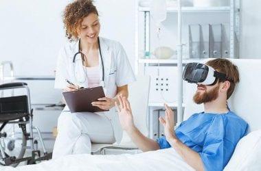 La realidad virtual en hospitales